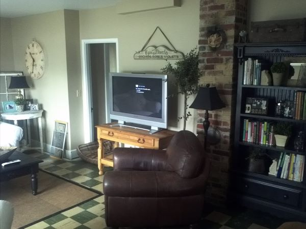 before picture of living room