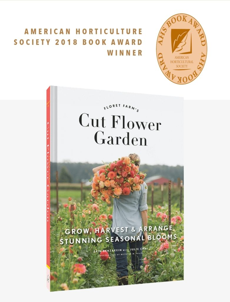 Cut Flower Garden by Erin Benzakein of Floret Flowers.