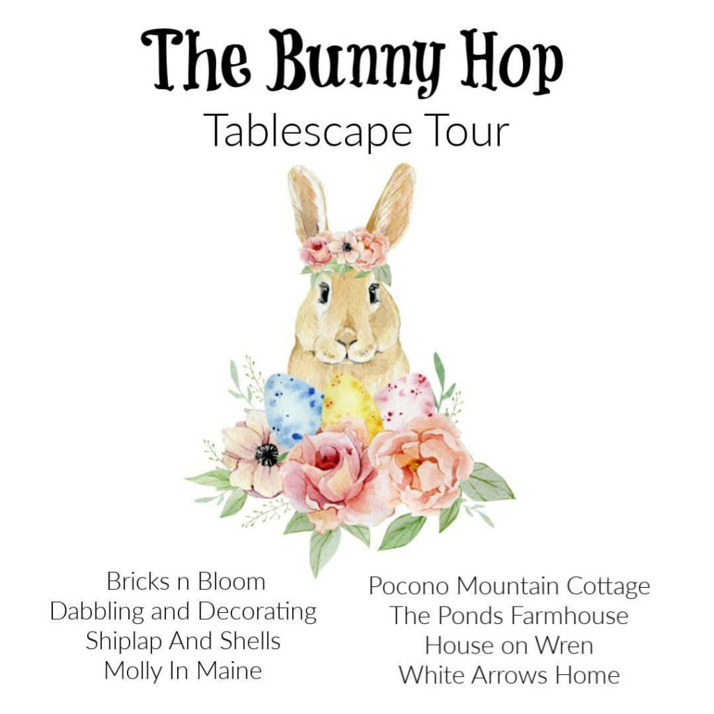 The Bunny Hop Tablescape Tour