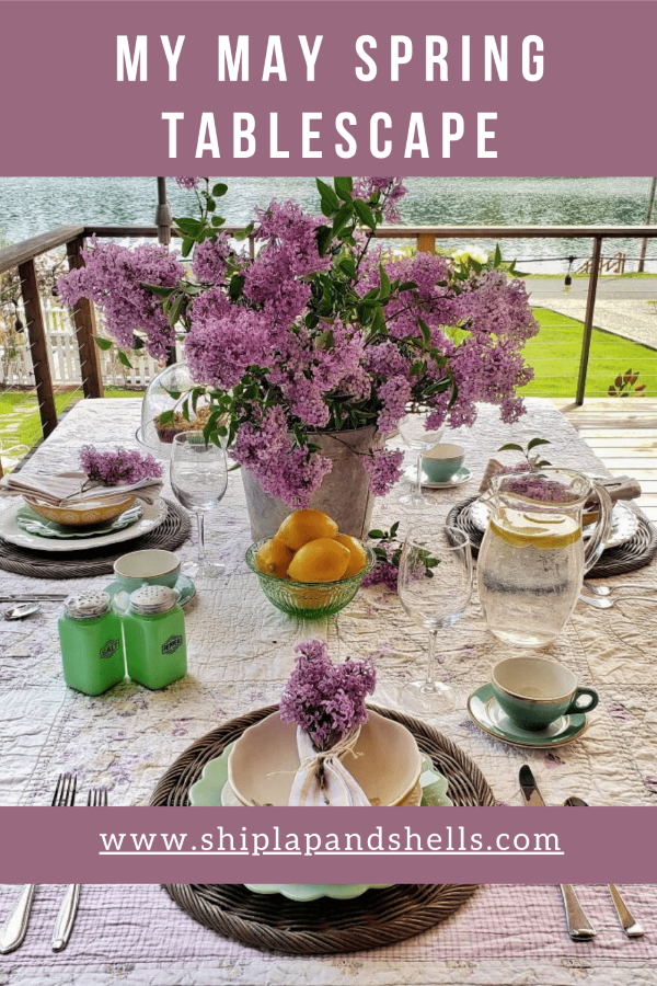 My May Spring Tablescape